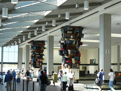 Sacramento Airport, sculpture by jericl cat, on Flickr