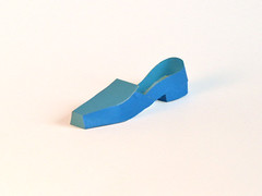 Blue Flat - Paper Shoe (Carlos N. Molina - Paper Art) Tags: blue sculpture art paper paperart shoe miniatures shoes origami highheels arte flat puertorico fineart craft carlos zapatos form folded papel paperfolding papershoe folding pape papercraft molina architectonic calzado puertoricanart papersculpture artsculpture paperstructure 折り紙 esculptura fashionillustration shoecollection architecturalorigami shoedesign papershoes papersculptures shoeillustration wwwcarlosnmolinacom carlosmolina puertoricanartist carlosnmolina paperscultures paperhighheels papergenius artedepuertorico seenonhgtv paperforms artesaniapuertorriqueña highheelillustration paperenginering