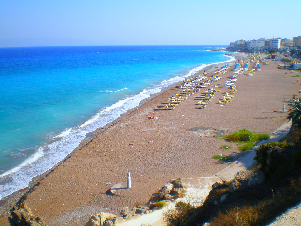 Фото пляжей средиземного моря