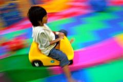 ngeeeng (dump9x) Tags: playground kid toddler panning nikond60 colorphotoaward flickrchallengegroup