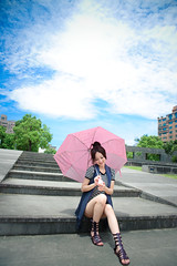(Funstyle) Tags: portrait woman cute girl beauty model nikon asia taiwan sigma babe taipei  fx 2010 peopel      2470 mikako    d700