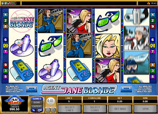 Agent Jane Blonde slot game online review
