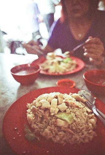 Teochew style Chicken Rice