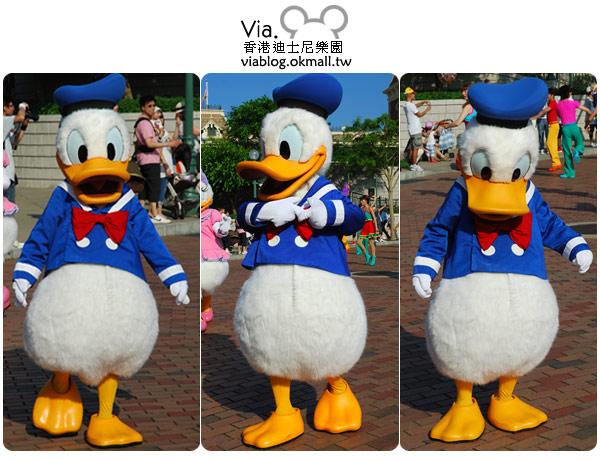 【香港迪士尼】跟著via玩香港(3)~迪士尼卡通人物歡樂巡遊43