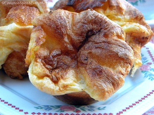 Popovers (Yorkshire Puddings) with Strawberry Butter ...