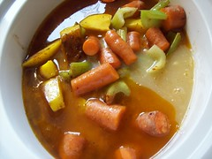veggie stew in crockpot