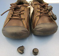 Infant shoes recalled