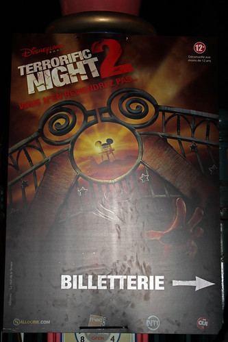 Terrorific Night 2 at Walt Disney Studios Park