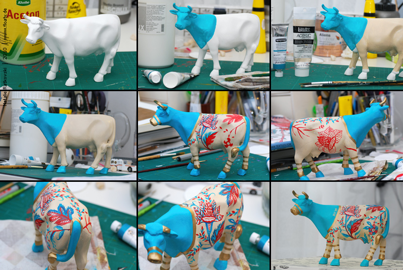 Chintz cow process