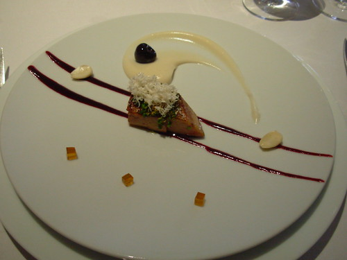The Fat Duck - Roast Foie Gras, Almond Fluid Gel and Chamomile