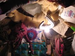 Inside of the Art Shanty. (RosaMundi) Tags: sciencemuseumofminnesota janetgroenert versionfest2007