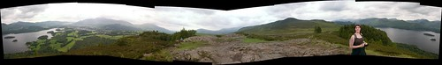 Derwent Water Panorama (360 degrees, 8 images)