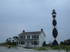 Cape Lookout Light and Keepers House
