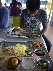 lunch at Yahoo! Bangalore