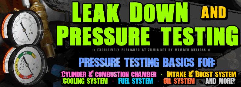 Leak Down & Pressurized Testing 101 *Approved* - Zilvia net