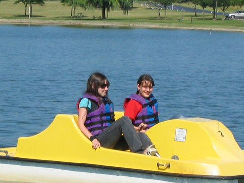 Fun on Twin Lakes