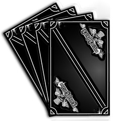 my card game ( black back ) (Little-Horse) Tags: canon 350d belgium belgique tag belgi tags illustrator canoneos lige adobeillustrator wallonie superbmasterpiece blackribbonbeauty
