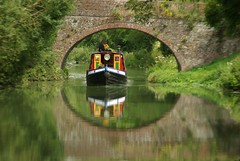 my boat!!!! (lovestruck.) Tags: bridge trees reflection green water canal wiltshire narrowboat kennetandavoncanal ncy bigmomma explored challengeyouwinner pentaxk10d voxstellarum greatlittlebedwyn fotocompetitionbronze yourockwinner