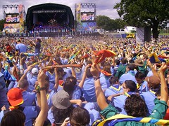 121 Jamboree UK - Ceremonia de inaguracion
