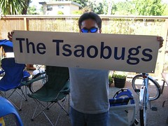 The Tsaobugs: camp sign