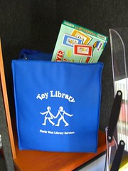 mobile library bus - toy library