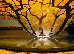 Trees in glass (kimbar/very busy, in and out) Tags: trees art glass beautiful 105 i500 1on1objects superbmasterpiece amazingamateur multimegashot
