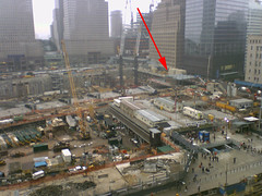 Ground Zero Structure Appears