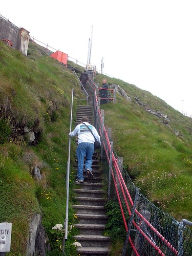 Up the 99 steps