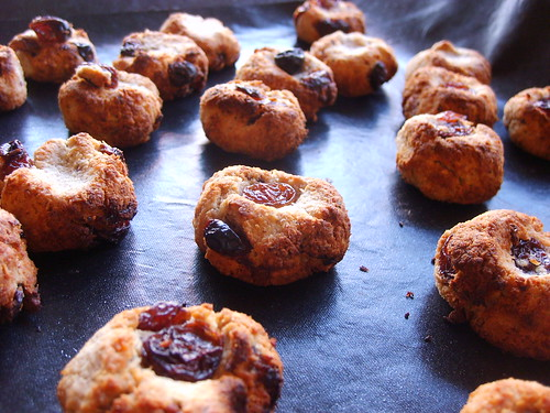 Biscuits Flocons d'Avoine Noix de Coco, Raisins et Amande