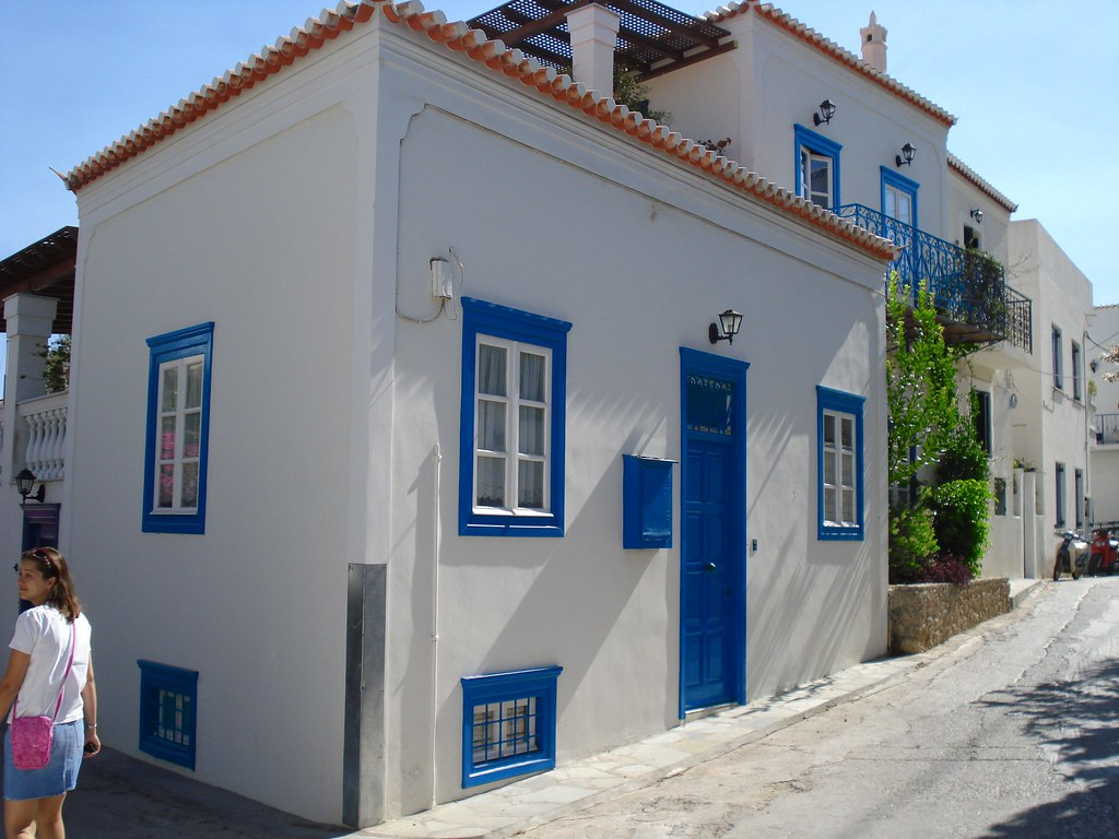 Traditional Greek Houses traditional architecture towns in greece #4: spetses - skyscrapercity