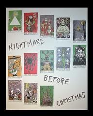 Nightmare Before Christmas Tarot Cards - Print (karlb) Tags: 2002 halloween jack disneyland disney nightmarebeforechristmas skellington karlburn disneyhauntedmansionholiday disneylandgallery