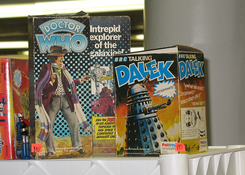 Toy Show - Vintage Doctor Who figures