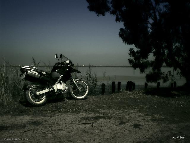 offroad moto bmw 650 gs