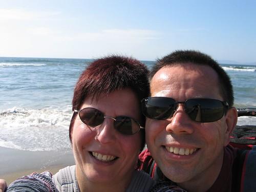 Smile am Ocean Beach