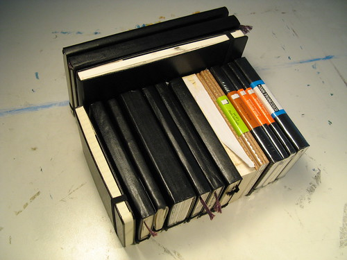 Moleskine Addiction — Stacked