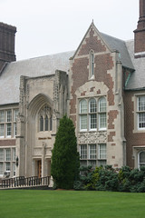 Hepburn Hall, NJCU, main entrance