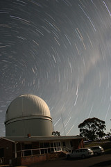 Circumpolar startrails over the AAT
