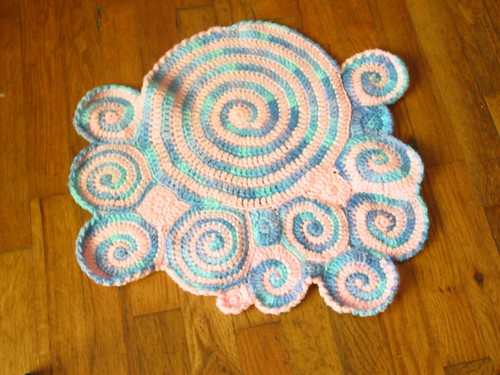 Freeform Doll Blanket