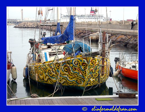 velero en colores
