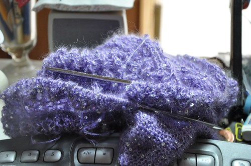 beaded mohair shawlette may 10