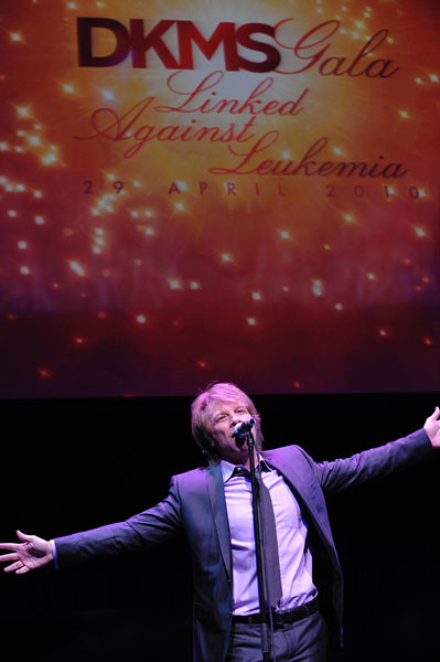 Jon Bon Jovi performs at the DKMS Linked Against Leukemia Gala by dkmsamericas