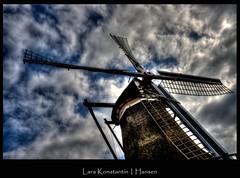 Be Right Back (LaRa K-H) Tags: sky holland mill netherlands clouds nederland hdr friesland molen handheldhdr larakonstantinhansen