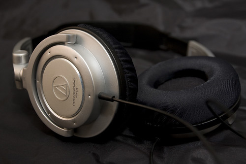 鐵三角ATH-SJ5+TINA手工耳罩套