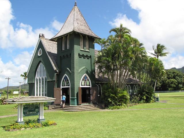 Wai'ola Hui'ia Church in Hanalei, Kaua'i