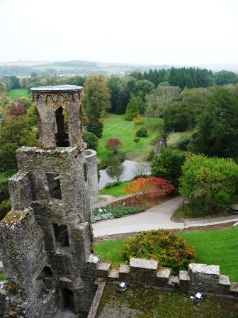 top of blarney castle
