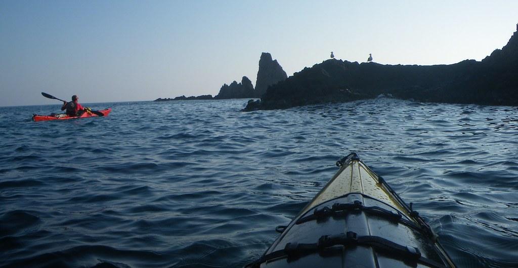 Cabo de Gata en kayak 505