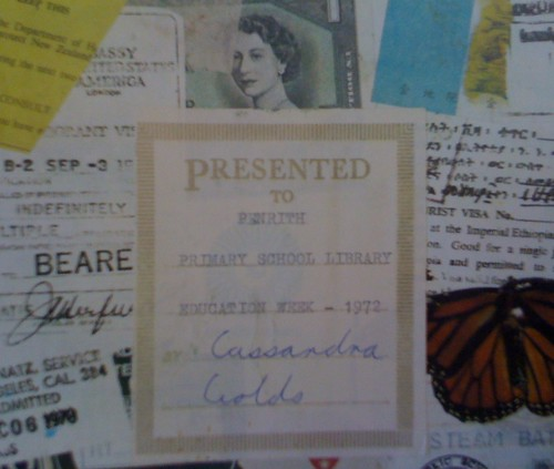 Cassandra Golds' presentation plate