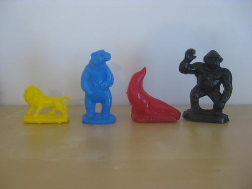 Como Zoo Mold-a-Rama Figures