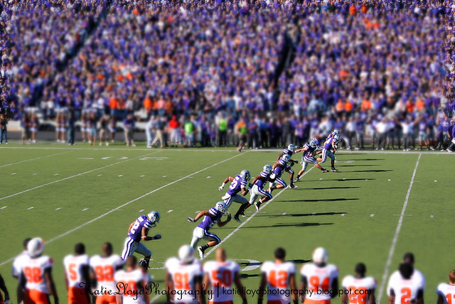 Football Tilt-Shift