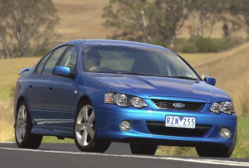 2003 Ford BA Falcon XR8 Press Photo